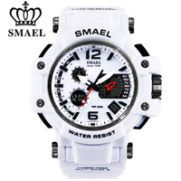 Wholesale men's sport watches online - SMAEL Brand Men Quartz Digital Watch Men s Sports Watches S Shock Male Clock Relogios Masculino LED M Waterproof Wristwatches
