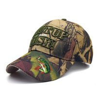 Wholesale desert camo cap online - 2017 Spring Summer Mens Army Camouflage Camo Cap Cadet Casquette Desert Camo Hat Baseball Cap Hunting Fishing Blank Desert Hat