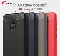 Wholesale Brush Carbon Fiber TPU Soft Case For Samsung Galaxy J4 Plus J6 A7 J2 Core MOTO P30 Play NOTE Oneplus T Shockproof Armor Skin Cover