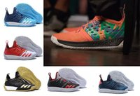 Wholesale jogging shoes online online - Men Harden Vol Basketball Shoes Online Store new tumbled leather full length Shoes Fashion Sports training Sneakers Running Sport Shoes