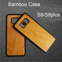 Wholesale galaxy best price online - OEM Best Price Bamboo Wood Case For Samsung Galaxy S9 S8 Plus S7 S6 edge Note Mobile Phone Cover Natural Wooden TPU Case For iphone x