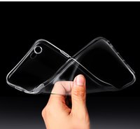 Wholesale iphone6 cases for sale - 5180 clear silicone back case for iPhone6 plus dull polish back cover for iPhone S plus simple slim phone case for iPhone plus
