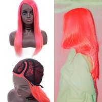 Wholesale brazilians wig cap online - Brazilian Straight Human Hair Wigs Density Lace Front Wigs With Baby Hair Adjustable Cap Remy Hair Free transportation