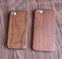 Wholesale iphone 5s for cheap wholesale for sale - Factory Cheap Price Bamboo Phone Cover For Iphone Accessories X Plus s s Wood Case Smartphone Wooden Back Cass For Samsung S9 S8 S7