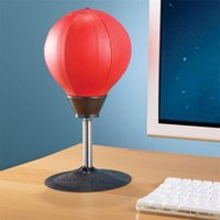 Wholesale desktop doll for sale - 2018 New Arrival Stress Buster Desktop Punching Ball Heavy Duty Composition Relieve Stress Sucker Punch Desktop Punching Bag