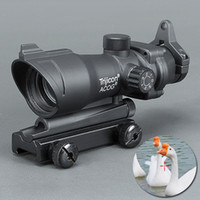 Wholesale Trijicon ACOG X32 Telescopic Sight Red Green Dot Laser Sight mm Mounts Scope Sight for hunting
