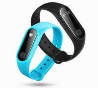 Wholesale m2 smart bracelet for sale - M2 Smart Wristband Bluetooth Watch Bracelet Heart Rate Monitor Watch Anti lost Reminder Smart Wrist band Watch