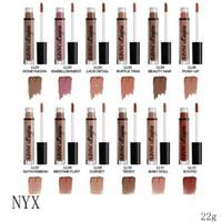 Wholesale nyx lip lingerie online - New Makeup Lips NYX Lip Lingerie Matte Lip Gloss Liquid Matte Lipstick Colors Hot Sale