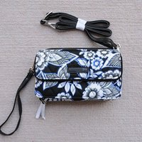 Wholesale wristlet cartoons online - New pattern All in One Crossbody and Wristlet for