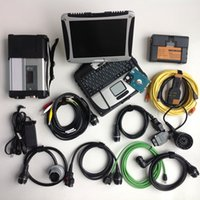 Wholesale MB star c5 for b mw icom a2 with TB HDD super soft ware in1 laptop CF touch i5 cpu g diagnosis scan tool high speed full set