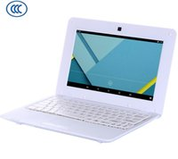 Wholesale 10 inch A33 G G with line WIFI netbook Android laptop
