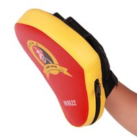 Wholesale Square Taekwondo Boxing Pad Punching Bag Karate Sparring Muay Thai TKD Training Foot Target Gear PU leather Surface Foam colors Hot NB