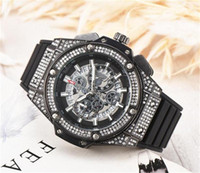 Wholesale bangs for sale - NEW mm Quartz Mens Watch Luxury Big Bang Chronograph Work Watch Casual fashion Large dial Quartz Watches