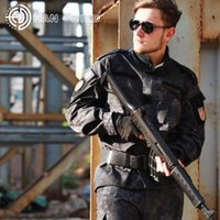 Wholesale combat uniform tactical for sale - Outdoor Sport Tactical Suits Men Paintball Combat Uniform Jacket Pants Camouflage Hunting Suits