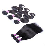 Wholesale brazilian remy mixed online - Ais Hair Brazilian remy human hair bundles extensions Cheveux vierges brésiliens bundles body wave unprocessed virgin hair