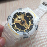 Wholesale fashion men s watch luxury online - AAA High quality New Stopwatch sports watch S Fashion digital LED watch dive M Chronograph g Men watches For Student boy girl