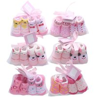 Wholesale cute baby girl clothes summer wear online - Cute Cotton Baby Socks Cartoon Newborn Socks Girls princess Socks Baby Booties Newborn Clothing Infant Wear Infant Outfits Clothes A3094