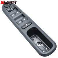 Wholesale windows signal for sale - 96468704XT New Front Left Side Power Electric Window Lifter Switch Panel For Peugeot SW ER ER ER