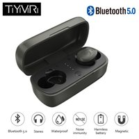 Wholesale TiYiViRi Tws Wireless Earbuds V5 Earphone Headset Deep Bass Stereo Sound Sport Earphone For