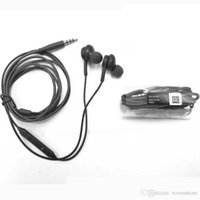 Wholesale Headphone In Ear Headset for Samsung S8 S8 Plus mm Plug Stereo Earphone with Mic and Remote