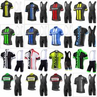 Wholesale giant team cycling bicycle jerseys online - GIANT team Cycling Short Sleeves jersey bib shorts sets Ropa Ciclismo summer Quick dry bicycle sports wear F