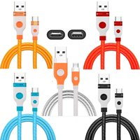 Wholesale 2 A Type c Micro USB Cable M FT Tpe Alloy Quick Charging Usb Cables Wire For Samsung Galaxy S7 S8 S9 S10 LG Htc Android phone