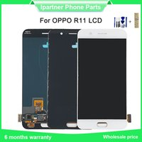 Wholesale 5 inch replacement LCD screen for Oppo R11 LCD touch screen black and white test send tool
