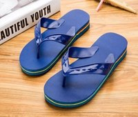 Wholesale man sandals for sale - 2019 Black Rubber Slide Fashion Sandal Slippers Green Red White Stripe Fashion Design Men Women with Box Classic Ladies Summer Flip Flops