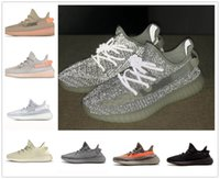 c959af624 2019 TOP V2 3M Reflective Static Clay True Form Hyperspace White Black  White Bred Mens Running Shoes Kanye West Women Fashion Sport Sneakers