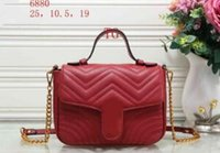 Wholesale Hot Sell Newest Style Classic Fashion Patent Leather Women Handbag Bag Shoulder Bags Lady Small Chains Totes bags