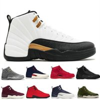 2256d45443e3 New 12 12s Gym Red Michigan Wntr Mens Basketball Shoes Flu Game Unc Nyc  Wings Bordeaux Taxi Men Sports Sneakers Designer Trainers Us 5.5-13