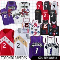 6c0f40135db4 Toronto Kyle 7 Lowry Raptor Vince 15 Carter 2 Leonard 1 McGrady 2018 New Basketball  Jersey men fans clothes printed top quality