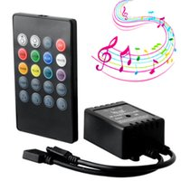 Wholesale SZYOUMY RGB strip light Music IR Keys IR Remote Controller for RGB LED Strip lights Mini Controller DHL Ship