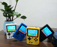 Wholesale portable games consoles online - New SUP Handheld Game Console Sup Plus Portable Nostalgic Game Player Bit in FC Games Color LCD Display