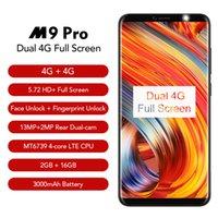 Wholesale leagoo phone online - LEAGOO M9 PRO G Smartphone quot full Screen Android MT6739V Quad Core GB GB mAh Face Unlock Mobile Phone
