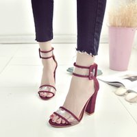 Wholesale transparent fashion shoes for sale - Dress Keduoduo Woman Sandals Gold Clear Strap High Heels Fashion Transparent Summer Shoes Women Pump Sexy Wedding Shoes For Patry