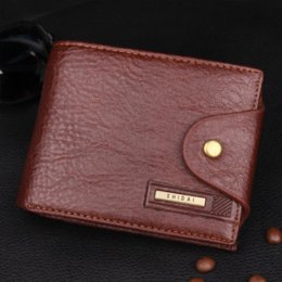 designer male wallets 4czv  2016 PU Designer Leather Wallet Holder Moraillon Sac Coin Homme Fashion  Business Short Hommes Portefeuilles Purse
