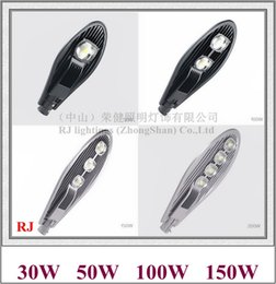 Sword lightS wholeSale online shopping - Epistar COB LED street light lamp LED road light IP65 W W W W AC85 V HZ HZ sword style I RJ LS A
