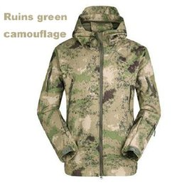 2014 HOT Military Tactical Hiking Jacket Mens Womens Lurker Shark Skin Soft Shell Fleece Camping Coat Waterproof Windproof Army Camo Jackets