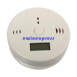 Digital Carbon Monoxide CO Gas Warning Alarm Detector home security alarm security systems alarms Carbon Monoxide Alarm Detector