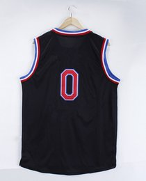 2015 All-Star embroidered #0 Damian Lillard Jersey, Cheap Basketball Jersey Alternate Derrick Rose Rev 30 Embroidery