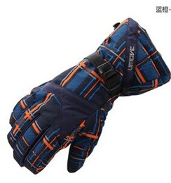 High quality Men waterproof skiing gloves windproof snowboard gloves winter outdoor snow sports warm gloves snowmobile ski glove more color!