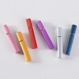 Perfume atomiser bottles wholesale online shopping - 7styles ML spray perfume bottle square mini portable atomizer Cosmetic Container Travel Refillable Mini Atomiser Spray diy bottle FFA1429