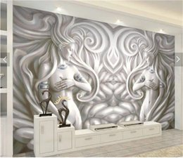 sexy backgrounds 2019 - 3d Wallpaper European Embossed Double Sexy Beauty Indoor Porch Background Wall Decoration Mural Wallpaper cheap sexy bac