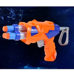 children guns bullet 2019 - Free Shipping High Quality Plastic wholesale Military Gun Toy Soft Bullet Safety Shoot Firing Family Game Toy Best Gift