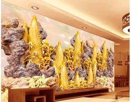 Discount wedding photo shots - bamboo shoots bamboo shoots jade carving video wall wall mural photo wallpaper