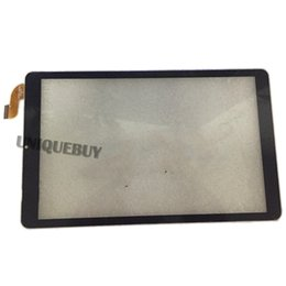 replacement touch tablet screen panel 2019 - For 10.1inch HZYCTP-101602A Black flat Tablet PC Digitizer Capacitive Touch Screen Panel Glass Sensor Replacement Tools