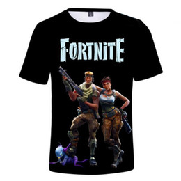 printing 3d printers 2019 - fortnite Summer 3D Printer Men's Women's Fashion Shirt T-shirt Mens Polos High-Q Apparel Clothing Top Short Sl