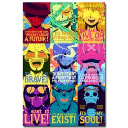 Chinese  New One Piece Strong World Anime Art Silk Poster 24x36inch 24x43inch 054 manufacturers