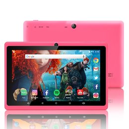 Discount quad core inch 8gb tablet - 7 Inch Quad-core Tablet Computer All-in A33 Android 8 wifi Internet Bluetooth 1GB 8GB Convenient game tablet